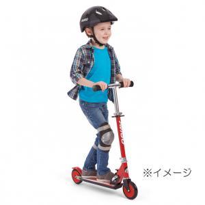 【クリアランス】トイザらス AVIGO 折りたたみキッズスクーター 120mm(レッド)