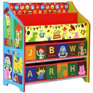 トイザらス限定 絵本&おもちゃ収納ラック (トイ・ストーリー)|toysrus-babierus