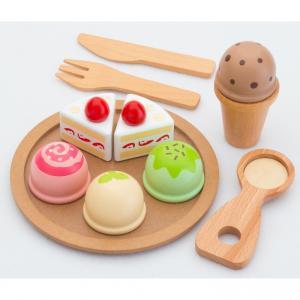 トイザらス限定 はじめてのおままごと アイスクリーム&ケーキセット【クリアランス】