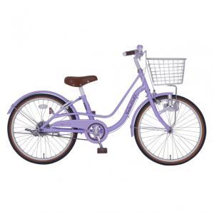 トイザらス限定 22インチ 子供用自転車 バレンタイン(パープル)|toysrus-babierus