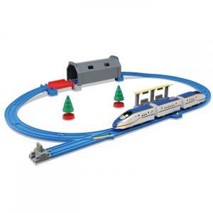 プラレール トンネルを照らそう!ライト付E7系新幹線かがやきベーシックセット|toysrus-babierus