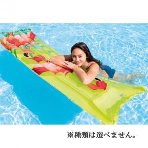 INTEX カラフルサニーデイ エアーマット  175×54cm