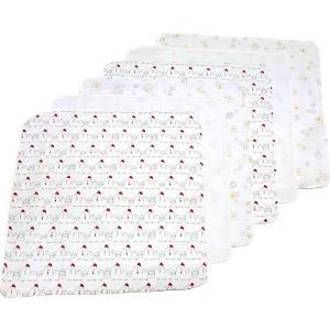 生地作りから縫製まですべて日本国内で生産されたガーゼハンカチです。赤ちゃんのお顔や体を拭いてあげられ...