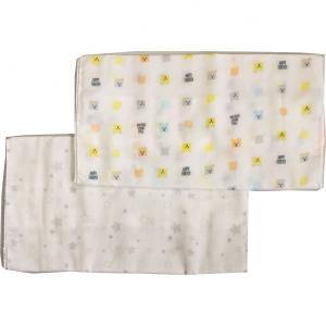 赤ちゃんのお世話に欠かせないガーゼ素材の沐浴布です。沐浴時や沐浴後の体拭きにお使いください。