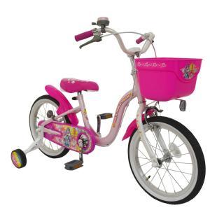 トイザらス限定 16インチ 子供用自転車 スター☆トゥインクルプリキュア