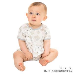 伸縮性のある生地で作った前開きのロンパースです。赤ちゃんの肌にぴったりフィットします♪ガーゼ素材は、...