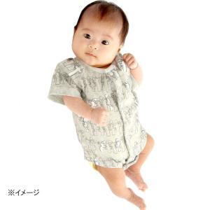 人気ブランド、MOOMIN BABYの半袖肌着です。ムーミン(ボーダー)/ニョロニョロ(総柄)の2柄...