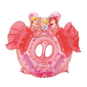 トイザらス限定 ディズニープリンセス リボン付き 足入れ浮き輪 50cm