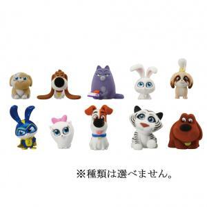 「ペット2」に登場するキャラクターが、高さ約5cmのフロッキー加工フィギュアで登場!!フロッキー加工...