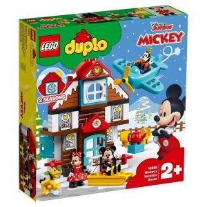 レゴ デュプロ 10889 ミッキーとミニーのホリデーハウス