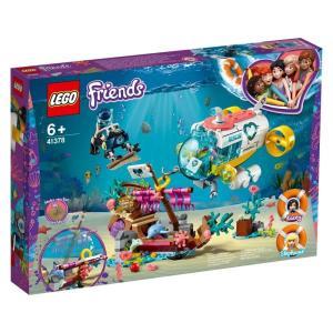 【オンライン限定価格】レゴ フレンズ 41378 イルカのレスキューサブマリン