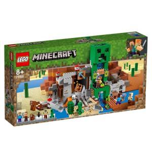 【オンライン限定価格】レゴ マインクラフト 21155 巨大クリーパー像の鉱山【送料無料】