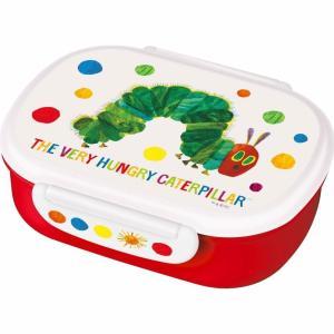 名作絵本「はらぺこあおむし」のお弁当箱です。お子さま用のお弁当箱として最適な360ml容量、中子付き...