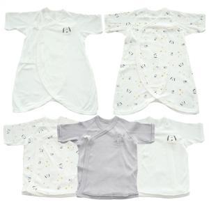 ベビーザらス限定 PEANUTS 新生児肌着5枚組 スヌーピー&ウッドストック(ホワイト×50-60...