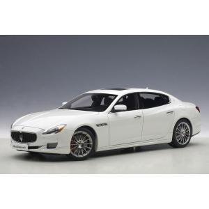 1/18 マセラティ クアトロポルテ GT S (ホワイト)【オンライン限定】【送料無料】