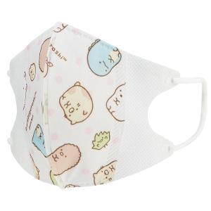 防塵効果に優れた三層構造の子供用立体マスク。風邪や花粉の時期におすすめ。