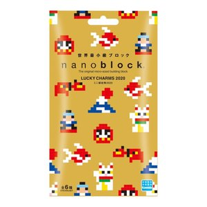 nanoblock(ナノブロック)ミニ縁起物2020(単品)(種類ランダム)