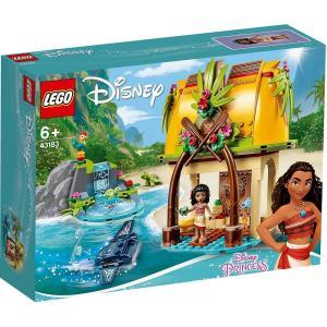トイザらス限定 レゴ ディズニープリンセス 43183 モアナと伝説の海 モアナの島のお家