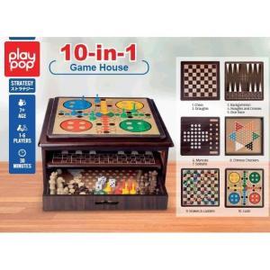 トイザらス プレイポップ 10イン1デラックスボードゲーム|toysrus-babierus