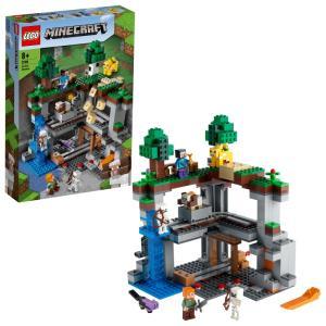 レゴ マインクラフト 21169 最初の冒険【送料無料】|toysrus-babierus