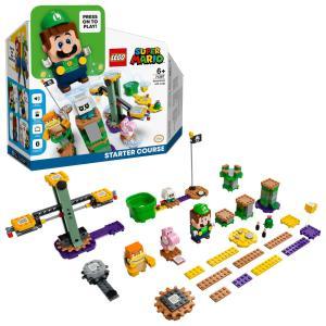 【オンライン限定価格】レゴ スーパーマリオ 71387 レゴ ルイージ と ぼうけんのはじまり 〜 スターターセット|toysrus-babierus