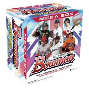 Topps メジャーリーグ 2021年版 ボウマン メガ ボックス ベースボールカード【オンライン限定】|toysrus-babierus
