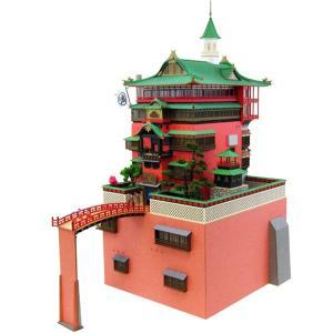 3D立体パズル ペーパークラフト みにちゅあーとキット 1/150 ジブリシリーズ 千と千尋の神隠し 油屋 MK07-10 送料無料