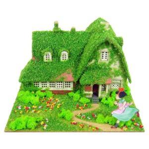 3D立体パズル ペーパークラフト みにちゅあーとキット スタジオジブリmini 魔女の宅急便 オキノ邸 MP07-06 メール便送料無料|toystadium-jigsaw