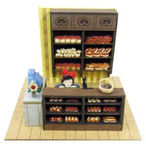 3D立体パズル ペーパークラフト みにちゅあーとキット スタジオジブリmini 魔女の宅急便 お店番 MP07-09 メール便送料無料|toystadium-jigsaw