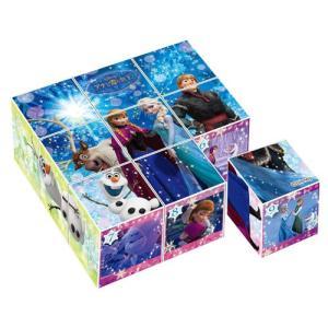 キューブパズル 2才から 9コマ アナと雪の女王 フローズンメモリー 13-94|toystadium-jigsaw