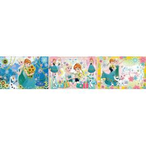 ディズニー パノラマパズル ステップ1 すくすく脳 3才から アナと雪の女王 エルサのサプライズ 23-71 |toystadium-jigsaw