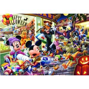 ジグソーパズル 108ピース ディズニー 光るパズル ハロウィンは大騒ぎ! D-108-744|toystadium-jigsaw