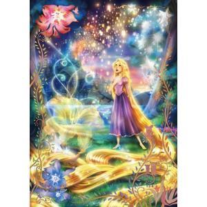 ジグソーパズル 108ピース 光るパズル ディズニー ラプンツェル 輝く魔法の髪 D-108-782|toystadium-jigsaw