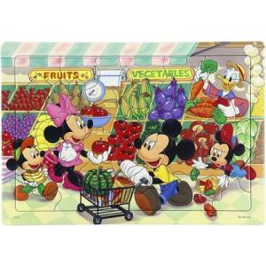 キッズパズル 板パズル 3才から 40ピース ディズニー ミッキーマウス スーパーでおかいもの DC-40-013