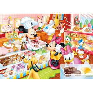 キッズパズル 板パズル 5才から 80ピース ディズニー ミッキー&フレンズ ミッキーのケーキやさん DC-80-046 toystadium-jigsaw