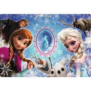 ディズニー チャイルドパズル 40+1ピース アナと雪の女王 アナ&エルサとハイ ポーズ! DC-41-092|toystadium-jigsaw