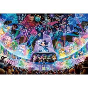 ディズニー ステンドアートジグソーパズル ぎゅっと500ピース ディズニーウォータドリームコンサート DSG-500-437|toystadium-jigsaw