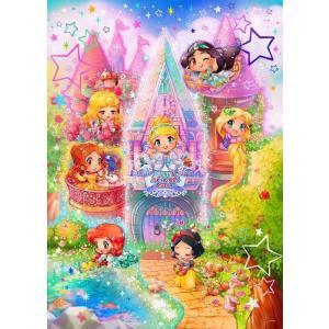 ディズニー ジグソーパズル 500ピース ディズニープリンセス リトルテイスト 小さなお城のお姫様  D-500-463 |toystadium-jigsaw