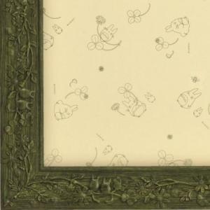 【数量限定大特価!!決算セール】ジブリ作品専用パズルフレーム ミニパズル150ピース用 葉っぱ 緑 10×14.7cm パネルNo.1-T ラッピング不可|toystadium-jigsaw