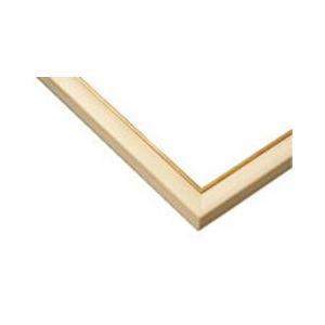 ジグソーパズル用木製パネル ゴールドライン ナチュラル 49.0×72.0cm パネルサイズ 10-D 64-132 ラッピング不可|toystadium-jigsaw