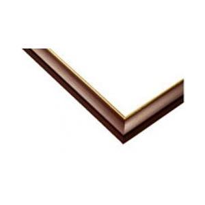 ジグソーパズル用木製パネル ゴールドライン ブラウン 50.0×75.0cm パネルサイズ 10 64-214 ラッピング不可|toystadium-jigsaw