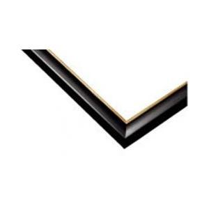 ジグソーパズル用木製パネル ゴールドライン ブラック 49.0×72.0cm パネルサイズ 10-D 64-332 ラッピング不可|toystadium-jigsaw