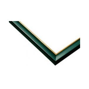 ジグソーパズル用木製パネル ゴールドライン グリーン 50.0×75.0cm パネルサイズ 10 64-714 ラッピング不可|toystadium-jigsaw