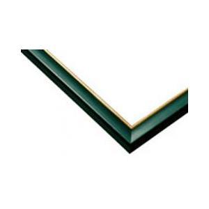 ジグソーパズル用木製パネル ゴールドライン グリーン 49.0×72.0cm パネルサイズ 10-D 64-732 ラッピング不可|toystadium-jigsaw