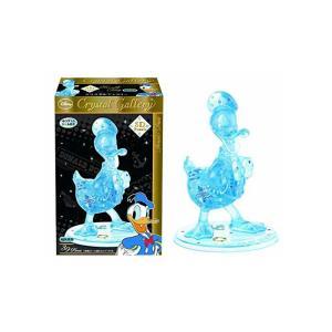 立体パズル クリスタルギャラリー ドナルドダック アクアブルー  toystadium-jigsaw