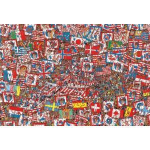 ジグソーパズル 1000ピース Where's Wally? ウォーリー せいだいなパーティー 31-444|toystadium-jigsaw