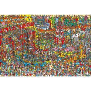 ジグソーパズル 1000ピース Where's Wally? ウォーリー おもちゃがいっぱい 31-447|toystadium-jigsaw