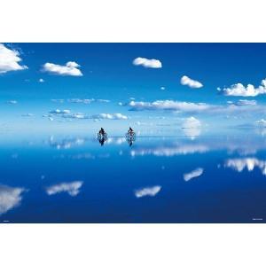 どこまでも広がる空が湖面に映る神秘の風景は「天空の鏡」とも呼ばれる。 美しい風景を組んで飾って、お部...