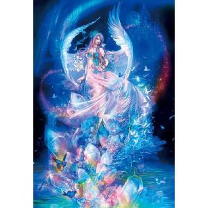 ジグソーパズル 光る1000ピース 深泉万葉 水晶の女神 81-097|toystadium-jigsaw