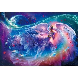 ジグソーパズル 1000ピース 光るパズル 貴希 祈りの海 49x72cm 81-106|toystadium-jigsaw
